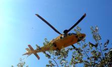 Matelica, incidente in un cantiere edile: uomo trasportato in eliambulanza all'Ospedale di Fabriano