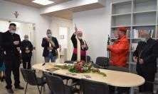 Fabriano, il vescovo Massara inaugura la nuova sede della Caritas