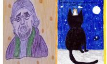 """Treia, un """"Arcobaleno"""" per Luis Sepúlveda, gli alunni della primaria ricordano lo scrittore cileno (FOTO)"""