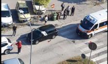 Tolentino, investimento in via Brodolini: uomo trasportato a Torrette in codice rosso