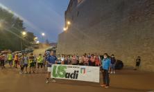 """""""Salute in cammino Treia"""", più di 50 persone alla prima camminata per le vie del borgo"""