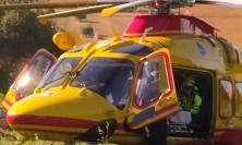 Camerino, auto contro moto: centauro trasportato in gravi condizioni a Torrette