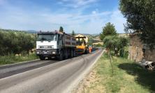 Interventi sulla provinciale Abbadia di Fiastra-Mogliano: 100.000 euro di lavori
