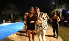 Civitanova, l'estate inizia da Villa Viola: Sandro Paniccia festeggia tra amici e tanta allegria (Fotogallery)