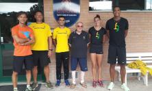 Gli atleti delle Fiamme Gialle in raduno a Camerino