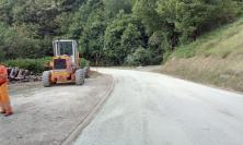 Provinciale Forcella-Visso, lavori in fase di ultimazione: in 4 anni 900 mila euro di investimenti