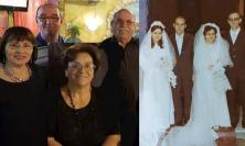 Potenza Picena, si sposarono lo stesso giorno: nozze d'oro per le sorelle Antonietta e Rosa