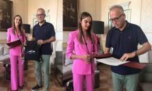Civitanova, il sindaco omaggia la ballerina Marta Bentivoglio: neodiplomata all'Accademia del Teatro alla Scala