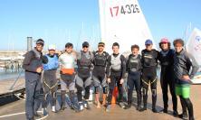 Club Vela Portocivitanova, 8 velisti rossoblu sbarcano a Follonica per inseguire il sogno tricolore
