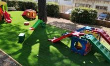 San Severino, nuova pavimentazione antitrauma nei plessi della scuola dell'Infanzia