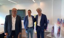 """Parcaroli in visita all'azienda Rainbow: """"Con Straffi ambiziosi progetti per Macerata"""""""
