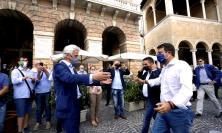 """INTERVISTA ESCLUSIVA - L'abbraccio tra Salvini e Parcaroli: """"Tornerò qui ogni anno"""" (VIDEO)"""