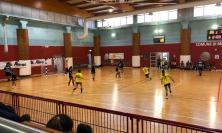 Pallamano, altro stop per le ragazze della Santerelli Cingoli: contro Mestrino finisce 30 a 16