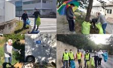 """""""PuliAmo Recanati"""", successo per i 3 giorni dedicati all'ambiente: il vice sindaco tra i volontari"""