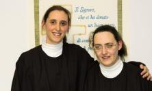 San Severino, Chiara e Jenny pronte ad entrare nelle Sorelle Povere di Santa Chiara