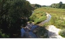 In secca un tratto del fiume Chienti: denunciate due ditte per lavori abusivi