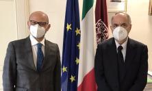Unimc, il rettore Adornato dà il benvenuto al nuovo questore Vincenzo Trombadore