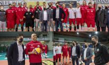 "MedStore Macerata, Stefano Parcaroli in visita alla squadra prima del ""tour de force"""
