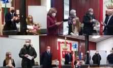 Camerino e le migliori decorazioni di Natale: i premi li consegna la piccola Agnese
