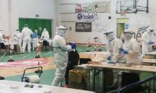 Civitanova, seconda giornata di screening: 13  positivi su oltre 1100 tamponi eseguiti