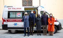 L'azienda Tombolini al fianco della RFK Italia e Croce Rossa Firenze: donati 200 capi di abbigliamento