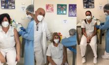 Porto Potenza, vaccinati oltre 550 operatori sanitari e 12 pazienti del Centro Santo Stefano