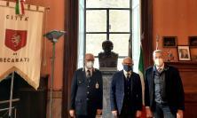 Recanati, il sindaco Antonio Bravi incontra il questore Vincenzo Trombadore