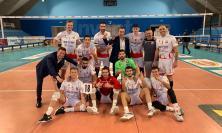 La MedStore Macerata più forte delle assenze: vittoria in 4 set in ricordo di Claudio Valenti