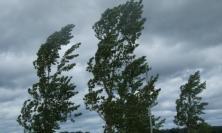 Raffiche di vento fino a burrasca e pioggia: nuova allerta meteo nelle Marche