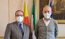 """Civitanova, Ciarapica incontra Pasqui: """"Nuove sinergie fra istituzioni"""""""
