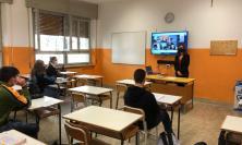 """Macerata, alle superiori parte la sfida della didattica mista: """"rientro in classe sereno per tutti"""" (FOTO)"""