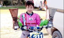 Motocross, Tolentino ha il suo baby campione: Fabio Santecchia 'argento' ai campioni regionali