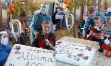 San Severino, festa grande alla Casa di Riposo: Albina Sgreccia spegne 100 candeline