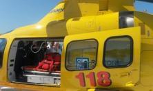 Esanatoglia, cade mentre si allena al crossodromo: pilota di 11 anni trasferito al Salesi in eliambulanza