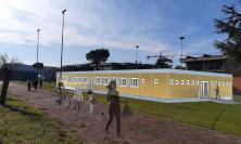 """Porto Potenza Picena, scuola """"Coloramondo"""": al via i lavori per i moduli che ospiteranno le classi"""