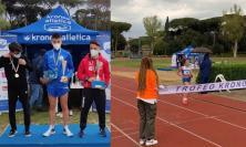 Cus Macerata, vittorie e podi per il gruppo della marcia: Elisa Marini trionfa tra le Under 16