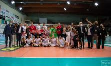 Med Store Macerata, la scalata play-off continua: Lecce battuta in 4 set e si vola in semifinale