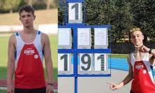 Atletica, esordio post-lockdown per l'Avis Macerata: ottimi risultati dalla pista azzurra di Fabriano
