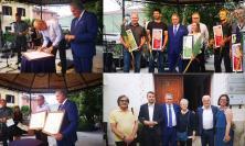 Tolentino, il sindaco Pezzanesi in visita a Isola d'Istria: rinnovato lo storico gemellaggio