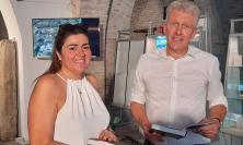 Porto Recanati, il professor Vermeulen in visita in città