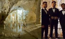 Il Volo festeggia i 50 anni dalla scoperta delle Grotte di Frasassi sulle note di Ennio Morricone