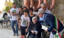 Bice Cammertoni spegne 100 candeline: è festa a Treia