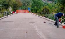 Provinciale Camerino-Tolentino, domani la riapertura del ponte sul Rio San Luca