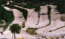 Cingoli, rovinosa caduta al crossodromo: motociclista trasportato a Torrette