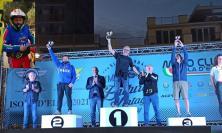 L'imprenditore Fabrizio Cagnini super all'Isola d'Elba: è secondo in un trofeo internazionale di enduro