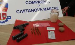 Civitanova: ricercato, pericoloso e armato. Arrestato spacciatore tunisino