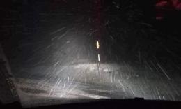 L'inverno gioca d'anticipo: temperature in picchiata e prima neve sui Sibillini