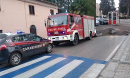 """Treia, chiamata al 115: """"Incendio nella scuola"""". Scatta l'allarme, ma è tutto falso (FOTO)"""
