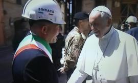 """Sborgia: """"Con Papa Francesco c'è stato uno sguardo d'intesa: c'è un intero territorio che aspetta di rinascere"""""""