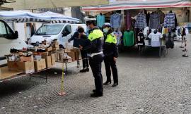 San Ginesio, torna il mercato settimanale nel pieno rispetto delle norme (FOTO)